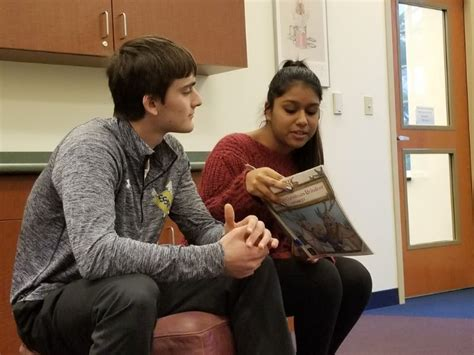 Senior School Students Host Story Time at Local Library